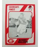 Bobby Walden Georgia Bulldogs UGA Dawgs 89 Collegiate Collection Cairo H... - $5.91