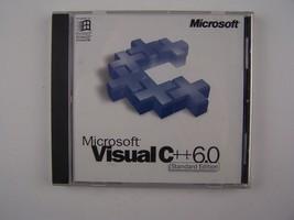 Microsoft Visual C++ Version 6.0 - Standard Edition CD - $57.91