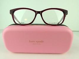 Kate Spade CARLISHA/F (Lhf) Opal Burgundy 52-14-145 Eyeglass Frames - $66.45