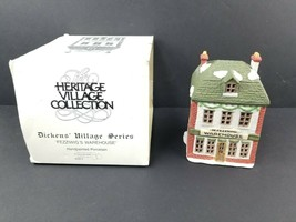 Dept 56 Dickens Heritage Village Fezziwig's Warehouse, #6500-5 *No Light* - $18.13