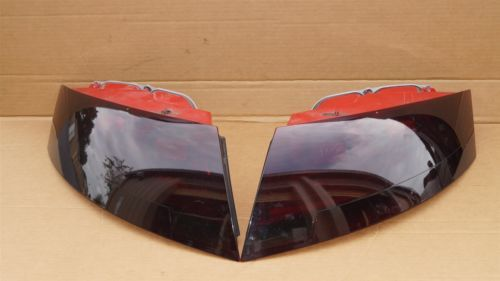 08-11 Audi TT MK2 Coupe Roadster Convertible Taillight Set Smoked L&R
