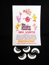 BIRD WHISTLE - SWISS WARBLER - PRAIRIE CALLER - ORIGINAL NOISEMAKER - (5... - $14.95