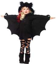 Toddler Halloween Costume Bat Cozy fits XS 3T-4T /NWT - $48.56