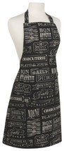 Now Designs Basic Cotton Kitchen Chef's Apron, Chalkboard - $28.44