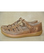 NEW Clarks Un Haven Cove Womens Sz 8 M Brown Leather Fisherman Sandals - $38.60