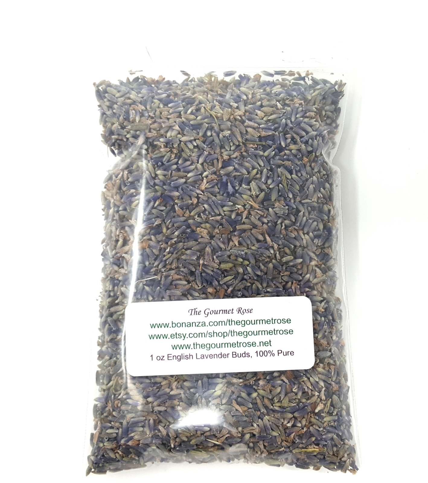 1 oz ENGLISH LAVENDER BUDS Dried Flowers Herbs Natural Herbal Tea Food Grade