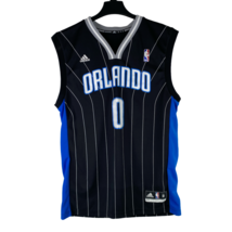 Adidas NBA Orlando Magic Mens Size Medium Black Jersey Shirt Jones #0 Ba... - $29.66