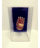 1970's Greg Copeland The Hand of Buddha 3D Artwork Framed in Acrylic  - $499.99