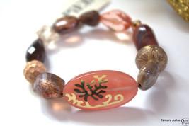 Napier Goldtone Helena Stretch Bracelet MSRP $34.00 New With Tag - $9.99