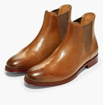 Mens Cole Haan Gramercy Chelsea Boot - British Tan Leather, Size 9.5 M [... - $159.99