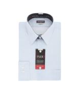 Van Heusen Flex Stretch Long Sleeve Pattern Dress Shirt Size 18, 19, 20 ... - $16.99