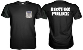 Boston State Police Black Tshirt Sz. S, M, L, Xl, 2XL, 3XL - $19.40+