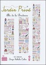 ABC de la Brodeuse cross stitch chart Jardin Prive   - $9.00