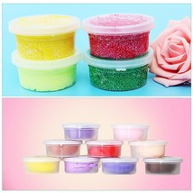 12 Pcs Slime Storage Containers Foam Ball Storage Cups Containers With H... - $5.04