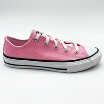 Converse CTAS Ox Cherry Blossom Pink Kids Sneakers 666895C - £31.77 GBP