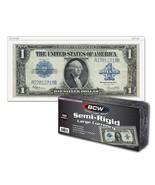 2 Packs (100) BCW Semi Rigid Large Bill Holder - $19.29