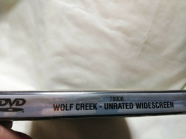 Wolf Creek (DVD, 2006, Unrated) New Sealed image 2