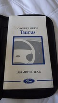 Ford Taurus Owner's Guide 1999 Model Year - $9.99