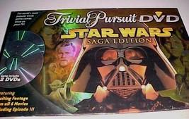 Star Wars Hasbro Trivial Pursuit Saga Edition DVD Board Game Darth Vader... - $79.19