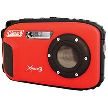 Coleman 20.0 MP/HD Waterproof Digital Camera-Red - $112.78