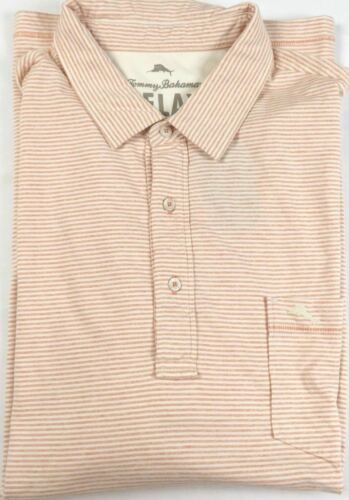 2XT Men's Tommy Bahama Relax Striped Pocket Polo Shirt Licensed NEW