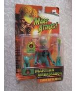 Mars Attacks Martian Ambassador Action Figure Trendmasters 1996 New Tim ... - $48.99