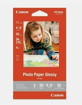 Canon 4x6 Photo Glosy Paper 50 Sheets - $7.91