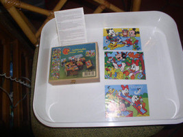 Vintage  Disney movies Wooden Blocks  made in Germany - $39.99