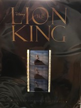 NEW SEALED DISNEY THE LION KING LIMITED EDITION FILM FRAMES CELLS 35 MM ... - $9.89