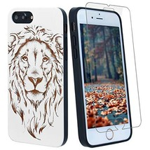 White Lion Wood Phone Case Compatible with (iPhone XS Max|White Wood Lion) - $37.43
