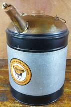 OILZUM MAN RIDING GOGGLES 1 GALLON CAPACITY MOTOR OIL CAN W/ SPOUT GARAG... - $32.37