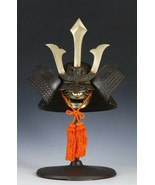 Vintage Japanese Samurai Helmet -Middle Size- with a mask - $345.49