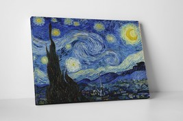 """Vincent Van Gogh - Starry Night Gallery Wrapped Canvas 20""""x30"""" - $52.42"""