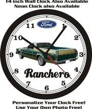 1977-1979 FORD RANCHERO WALL CLOCK-FREE USA SHIP! - $28.70+