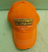 Monster Jam Youth Orange Maximum Destruction Baseball Cap  UPC:794080235222 - $11.39