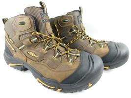 Keen Braddock Mid Top Size US 12 M (D) EU 46 Men's Steel Toe Work Boots 1011242