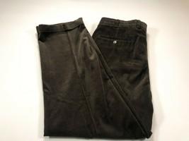 Brooks Brothers Elliot Dark Brown Cotton Blend Corduroy Pants 38x30 - $39.99
