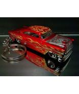 Red 1953 Custom Chevy BelAir Key Chain Ring - $15.19