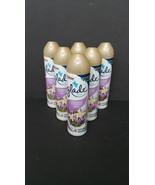 Six Cans (6) Glade Lavender & Vanilla Spray Air Freshener 8 oz - $23.22