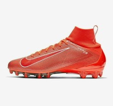 Nike Vapor Untouchable 3 Pro Football Cleats Red/Wh Men Size 10.5 New 91... - $93.49