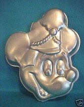 Wilton Retired Discontinued Mickey Mouse Bandleader Cake Pan Circa 1976 ... - $19.79