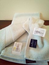 FIELDCREST 2Pc  Towel Set 100%Cotton 1 HAND Towel & 1 Washcloth Newark Blue - image 4
