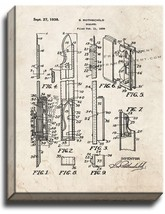 Scalpel Patent Print Old Look on Canvas - $39.95+