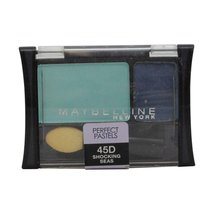 Maybelline New York Expert Wear Eyeshadow Duos, Perfect Pastels 45D Shoc... - $9.99
