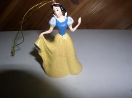 Snow White Walt in her yellow dress Disney ornament figurine - $9.99