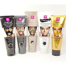 [ RK BY KISS ] Black Charcoal Peel-Off Mask / Gold Mask / Cleansing Foam - $8.50