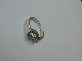 925 sterling Silver mount Ring,Pear 5X3 mm, RI-0112,ring,all size available - $8.70