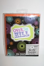 OVER THE HILL Birthday Party 16 Invitations Envelopes Spiral New Amscan - $7.83