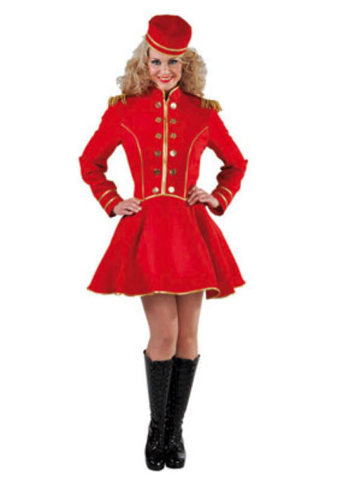 Bell Boy / Hat Check Girl / Circus / Cinema Usher Costume   - sizes 6-20