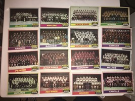 2 Complete Sets of 16 1980-81 Topps Pinups posters HOCKEY TEAM PHOTO SPs!! - $23.76